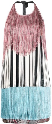 Missoni Fringed Mini Dress