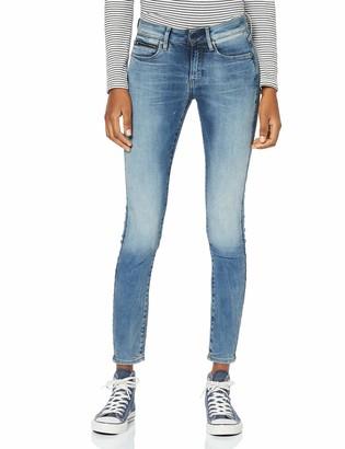 G Star Women's 3301 Studs Mid Waist Skinny-Jeans