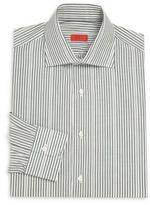 Isaia Regular-Fit Striped Cotton Dress Shirt