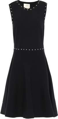 Kate Spade Baja Bound Flared Studded Knitted Dress