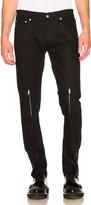 Alexander McQueen Zip Jeans