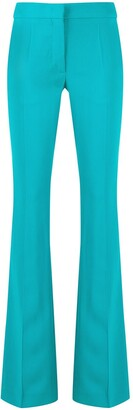Moschino Flared Mid-Rise Trousers
