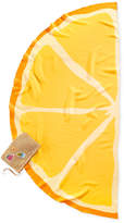 Collection XIIX Lemon Semicircle Wrap and Cover-Up with Pouch