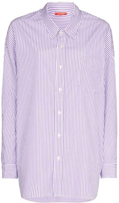 Denimist Stripe Print Button-Up Shirt