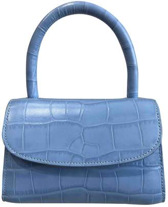 BY FAR Blue Leather Handbags