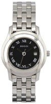 Gucci 5500L Stainless Steel with Black Dial 27mm Womens Watch
