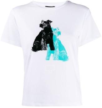 Emporio Armani Dogs-print T-shirt
