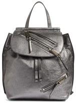 Marc Jacobs Metallic Leather Backpack - Metallic