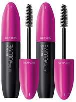 Revlon Ultra Volume Mascara Value Pack Blackest Black 0.56 oz