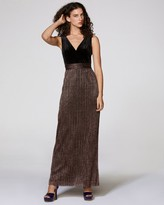 Vince Camuto V-neck Gown