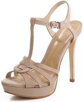Schutz Leather Classic Sandal