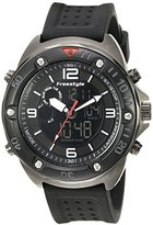 Freestyle Men's 10022921 Precision 2.0 Analog-Digital Display Japanese Quartz Black Watch