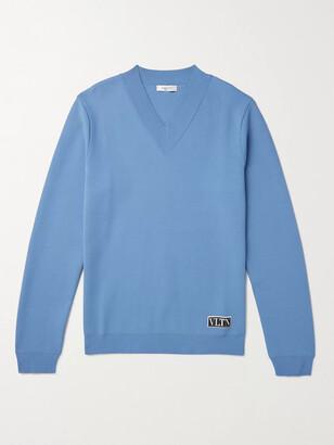 Valentino Tech-Knit Sweater