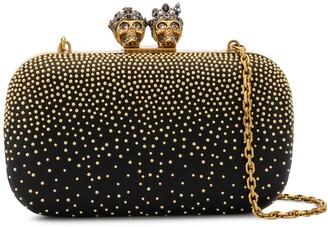 Alexander McQueen Queen & King embellished clutch