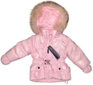 ADD Pink Polyamide Jackets & Coats