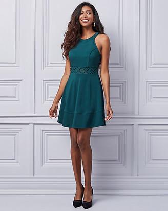 Le Château Knit Halter Neck Dress