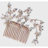 Dorothy Perkins Womens Crystal Hair Comb- Clear