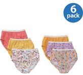 Hanes Girls Brief Underwear, 6 Pack Panties (Little Girls & Big Girls)