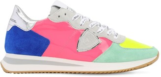 Philippe Model Tropez Patent Leather Sneakers