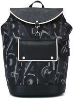 Salvatore Ferragamo all-over print backpack