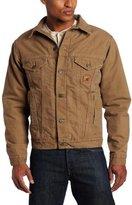 Carhartt Men's Big & Tall Sherpa Lined Sandstone Jean Jacket