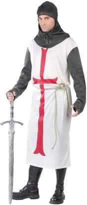 Fun World Costumes FunWorld Templar Knight White One Size Costume