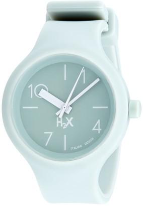 Haurex Women's Stainless Steel Quartz Watch with Rubber Strap Grey 18 (Model: SV390DV2)