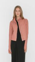 Rick Owens Lilies Blush Leather Jacket