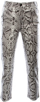 Singer22 The High Rise Cigarette Coated Pant