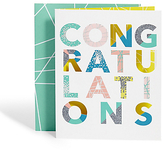 Marks and Spencer Congratulations Text Card