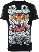 Philipp Plein Philipp Tiger T-shirt - men - Cotton - L