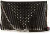 Christian Louboutin Loubiposh jurassic spike-embellished pouch