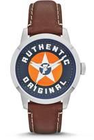 Fossil Men's Townsman FS4898 Leather Quartz Watch