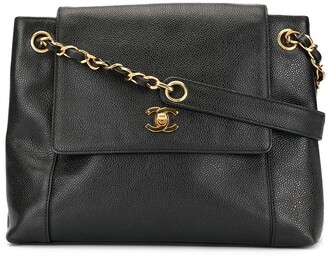Chanel Pre-Owned Chain Shoulder Tote Bag