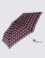 Marks and Spencer Ollie Owl Print Compact Umbrella with StormwearTM