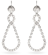 Miu Miu Crystal-encrusted drop earrings