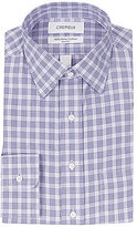 Daniel Cremieux Non-Iron Fitted Classic-Fit Spread-Collar Houndstooth Checked Dress Shirt