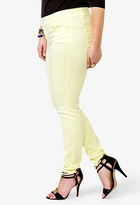 Forever 21 Colored Skinny Jeans