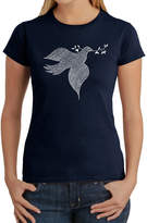 LOS ANGELES POP ART Los Angeles Pop Art Women's T-Shirt - Dove