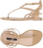 Patrizia Pepe Toe strap sandals - Item 11245695