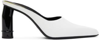 Nina Ricci White Pointed Heeled Mules
