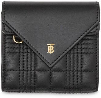 Burberry Quilted Envelope Wallet