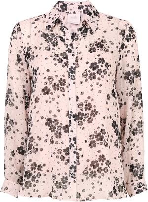 Wallis PETITE Blush Floral Print Shirt