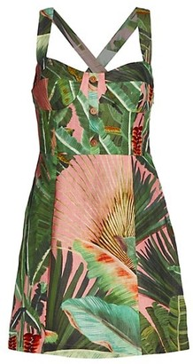 Farm Rio Amazonia Forest Mini Dress