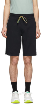 Paul Smith Black Cotton Jersey Shorts