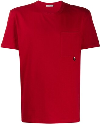 Moncler patch-pocket cotton T-shirt