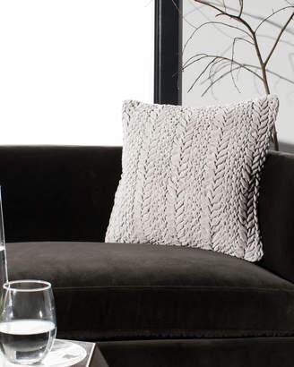 Safavieh Barlett Ruch-Pleated Pillow