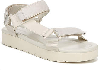Vince Carver Leather/Suede Flatform Sport-Strap Sandals