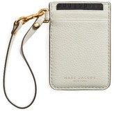 Marc Jacobs Women's Commuter Leather Card Case - Grey