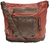 Marsala Pocket-Front Crossbody Bag
